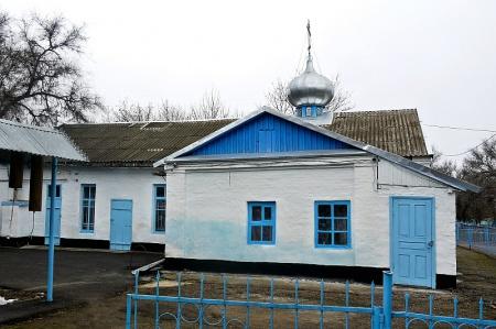 Храм святого пророка Илии в пос. Новоульяновском