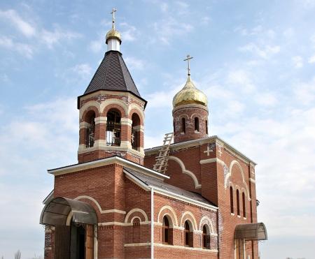 Храм святителя Николая Чудотворца в с. Ачикулак