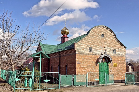 Храм святителя Николая Чудотворца в ст-це Курской