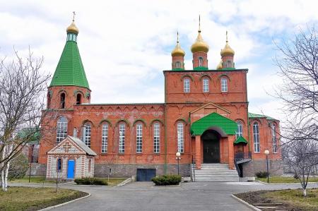 Храм преподобного Сергия Радонежского в г. Нефтекумске