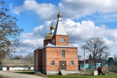 Храм Архистратига Божия Михаила в пос. Верхнестепном