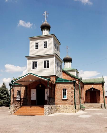 Храм святого великомученика Георгия Победоносца в г. Георгиевске