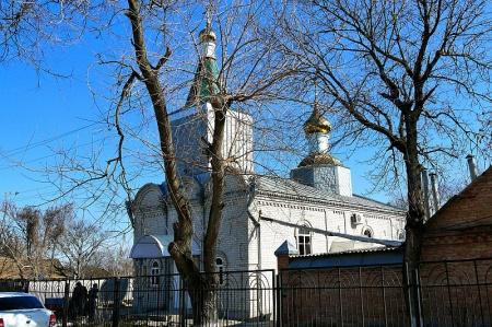 Храм святого великомученика Георгия Победоносца в ст-це Галюгаевской