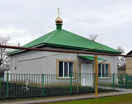 Храм святителя Спиридона Тримифунтского на хут. Жуковском