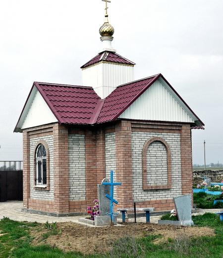 Кладбищенская часовня в с. Спасском