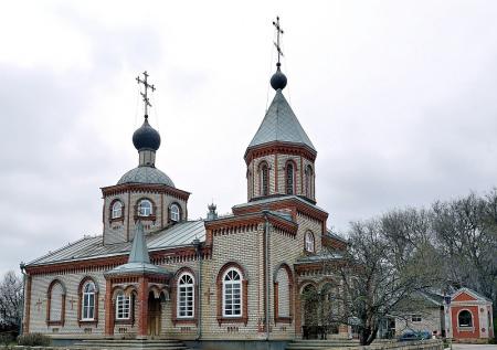 Храм святителя Митрофана Воронежского в с. Бурлацком