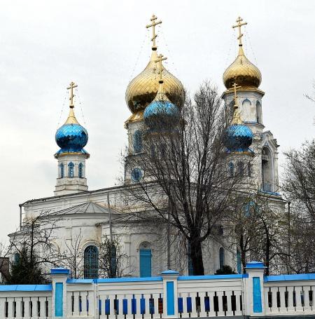 Храм Казанской иконы Божией Матери в с. Спасском