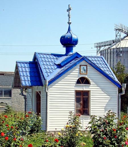 Часовня Владимирской иконы Божией Матери в г. Зеленокумске на территории молочного завода