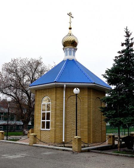 Часовня Иверской иконы Божией Матери в с. Архангельском
