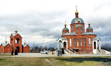 Храм Святой Троицы в с. Краснокумском