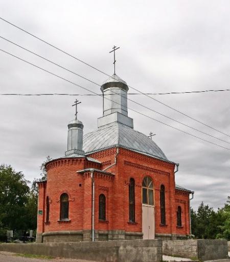 Кладбищенская часовня Успения Божией Матери в г. Георгиевске