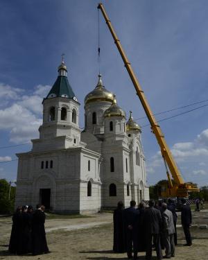 Храм святого благоверного великого князя Александра Невского (строящийся) в с. Александровском