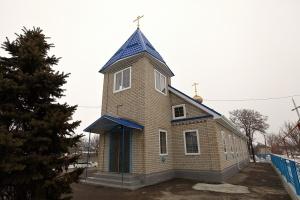 Храм святителя Николая Чудотворца в с. Обильном