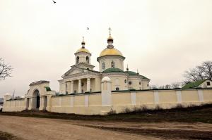 Храм Преображения Господня в с. Новоселицком