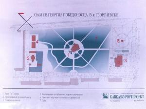 Первоначальный план комплекса духовно-культурного центра