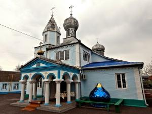 Храм Казанской иконы Божией Матери в г.Зеленокумске
