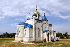 Храм святого великомученика Димитрия Солунского в с. Чернолесском