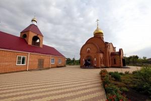 Храм Святого великомученика Димитрия Солунского в с. Петропавловском