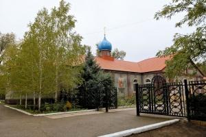 Храм Рождества Пресвятой Богородицы в с. Арзгир