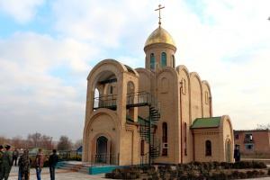 Храм Cвятых царственных страстотерпцев в c. Варениковском