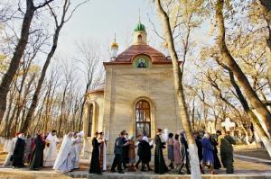 Храм-часовня прп. Сергия Радонежского на Архиерейском подворье в ст-це Незлобной