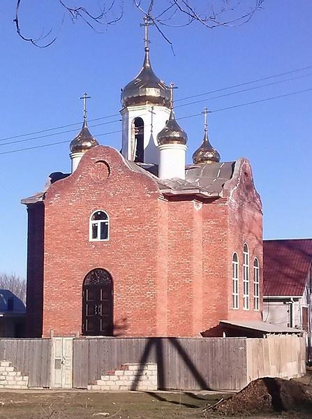 Храм-часовня Новомучеников и исповедников Церкви Русской (строящийся)