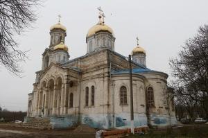 Храм села Калиновского и священномученик Иоанн