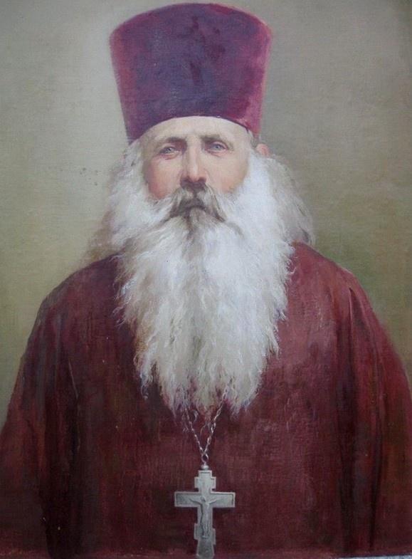 Священник Михаил Лисицын. Живописное изображение