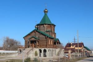 Храм святого пророка Илии в пос. Новом