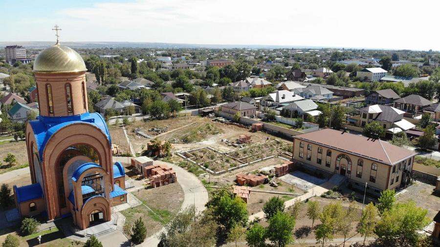 Храм Воскресения Словущего и Свято-Сергиевская православная начальная школа